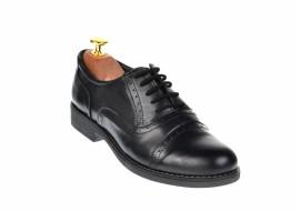 Pantofi dama negri casual din piele naturala - VIC2310NBOX