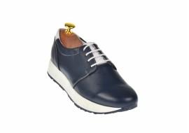Pantofi dama sport din piele naturala, Made in Romania - VIC2010AL