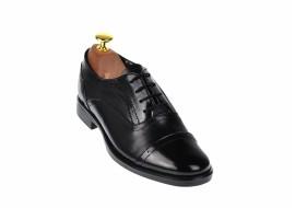 Pantofi dama negri casual din piele naturala box, lac - P291NLAC