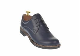 Pantofi dama casual din piele naturala, Made in Romania - P102BL