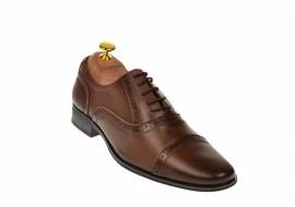 Pantofi barbati maro - eleganti din piele naturala - 217MARO