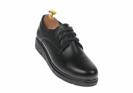 Oferta marimea 37 Pantofi dama casual din piele naturala box - LMIONBOX