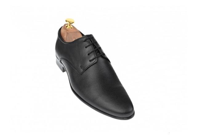 Oferta marimea 42 Pantofi barbati eleganti din piele naturala box - LFABION