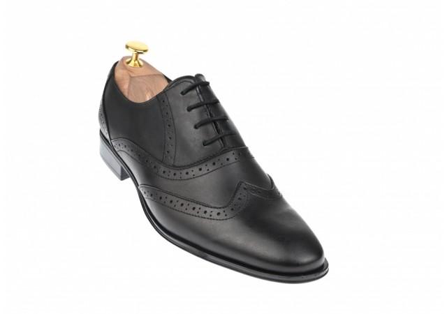 Pantofi barbati eleganti din piele naturala - Model 566N