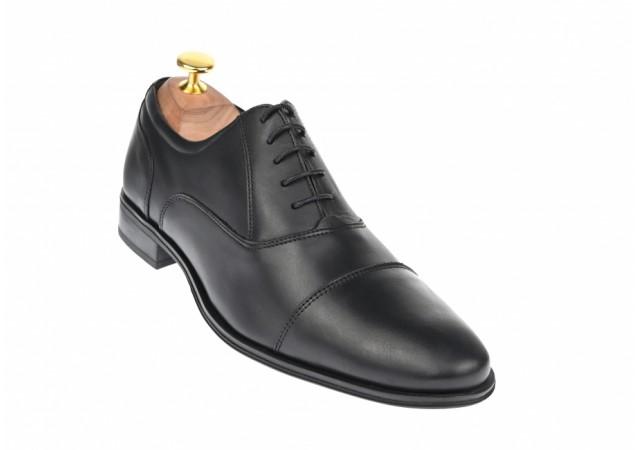 Oferta marimea 40 Pantofi barbati casual din piele naturala box - L357NBOX