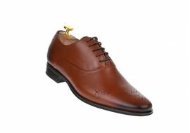 Pantofi barbati eleganti din piele naturala, maro, SIR165M