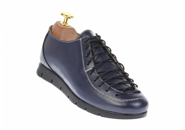 Pantofi dama casual din piele naturala - P515BLM