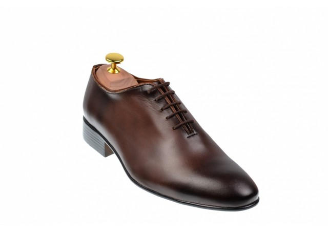Pantofi barbati eleganti din piele naturala maro, EL PATRON, 024MBOX
