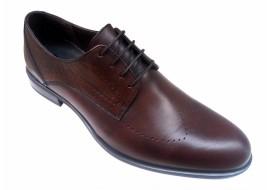 Pantofi barbati lux - eleganti din piele naturala maro - SIR011ML