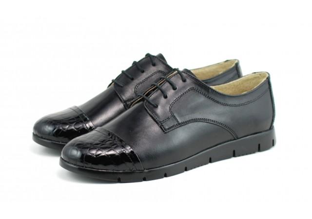 Pantofi dama casual din piele naturala - Made in Romania ROVI33N