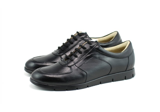Pantofi dama casual din piele naturala - Made in Romania ROVI34N