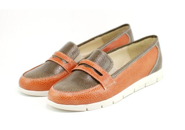 Pantofi dama casual din piele naturala, cu platforme - ROVI41CF