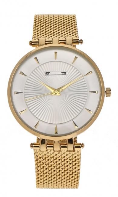 Ceas de mana dama elegant, argintiu Matteo Ferari - MF2298MGOLD