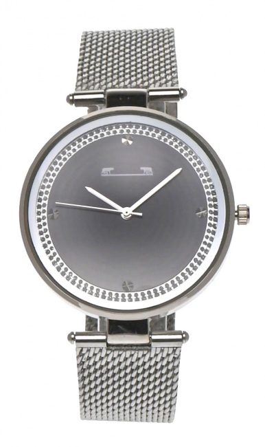 Ceas de mana dama elegant, argintiu Matteo Ferari - MF2298MNSILVER