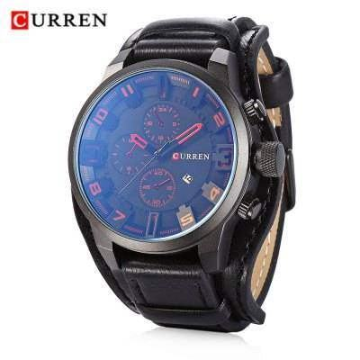 Ceas de mana barbati casual - Curren M8225RED
