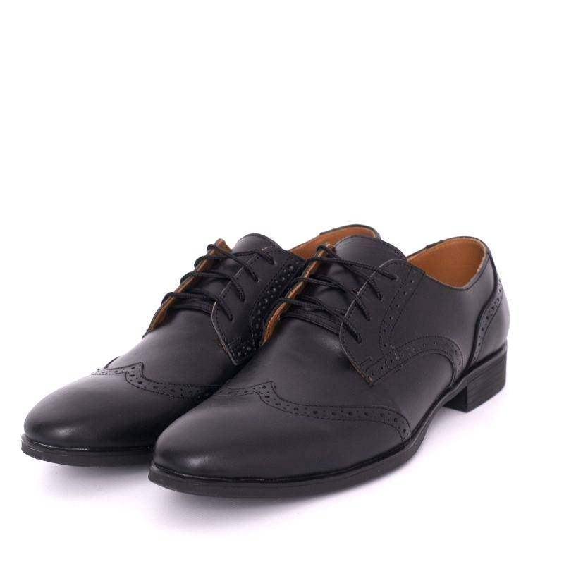Pantofi eleganti din piele naturala VIC3250