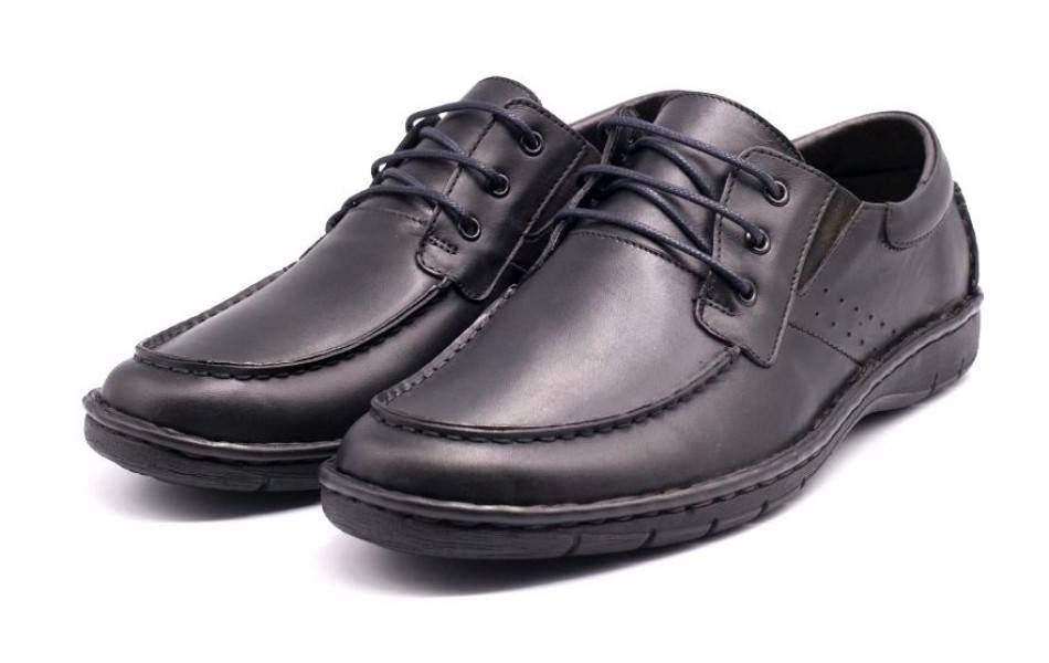 Pantofi Casual Barbati din piele cu siret VIC2110