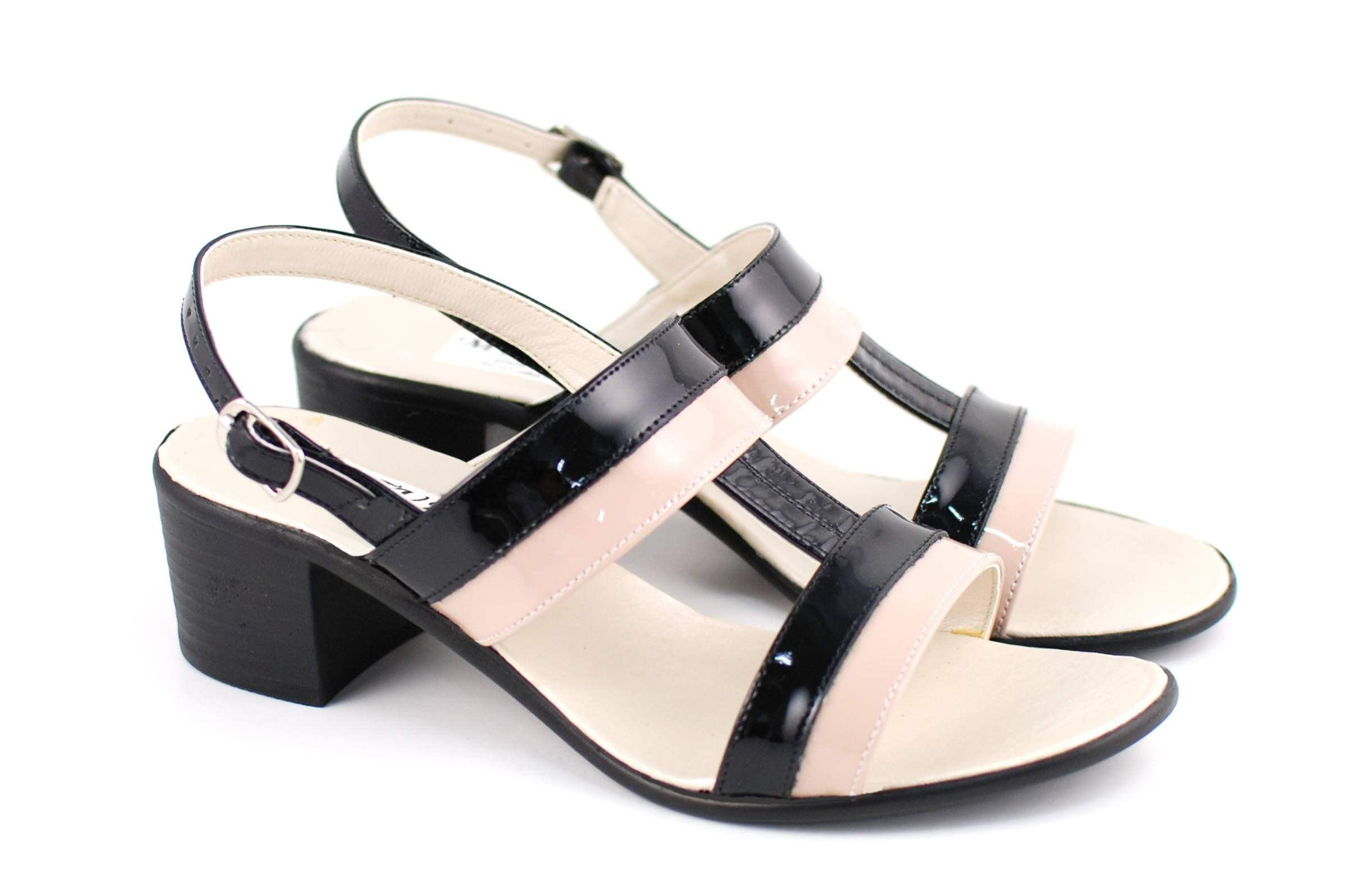 Sandale dama din piele naturala - S7LNNUDTPN
