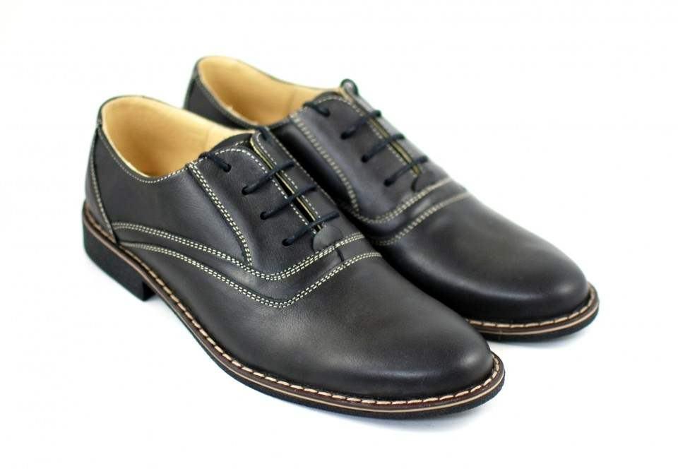 Pantofi barbati piele naturala casual, eleganti - P37NA