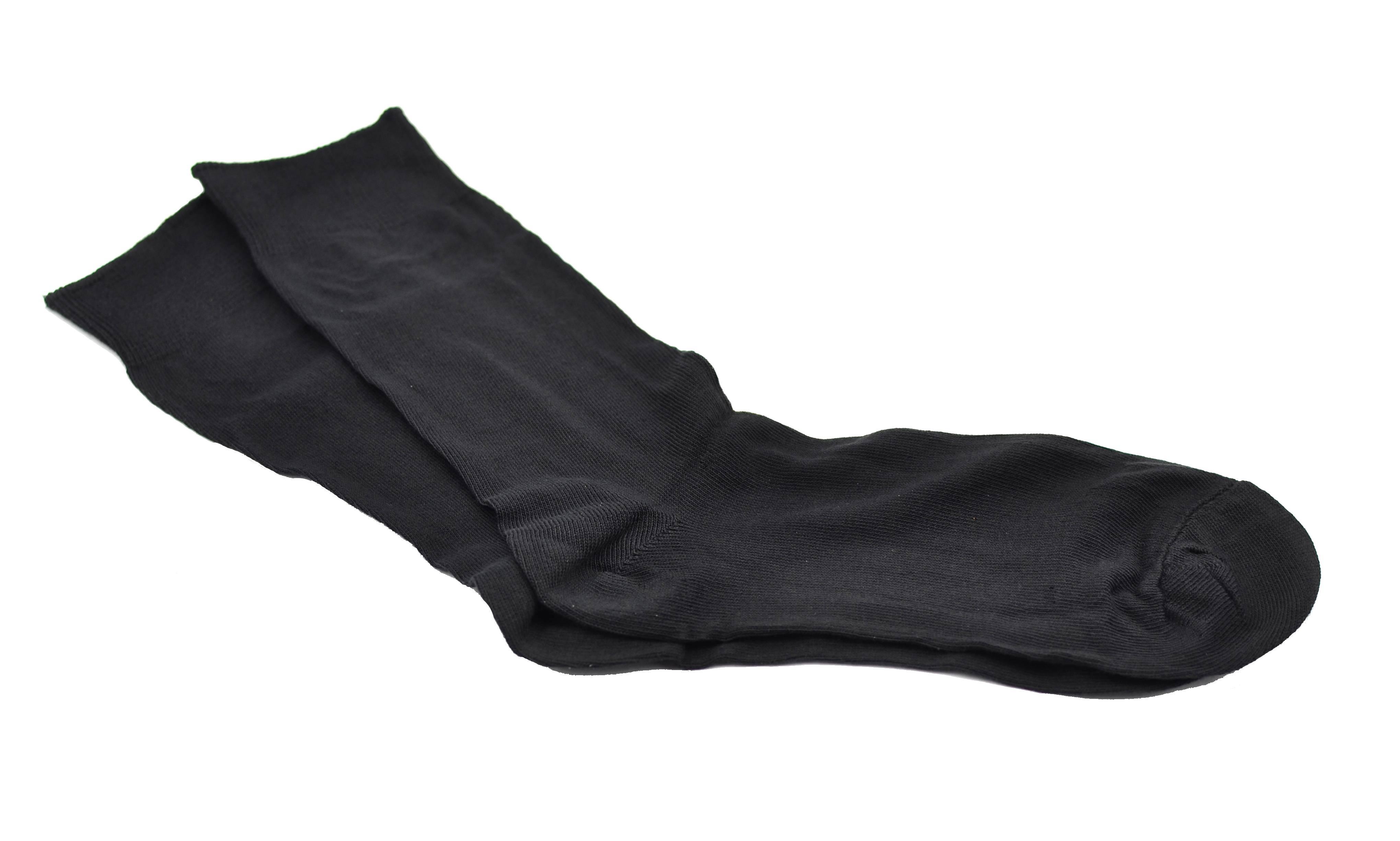 Sosete negre barbati pentru costum, 5 perechi, bumbac 100% - Sibiu, Romania SB361N