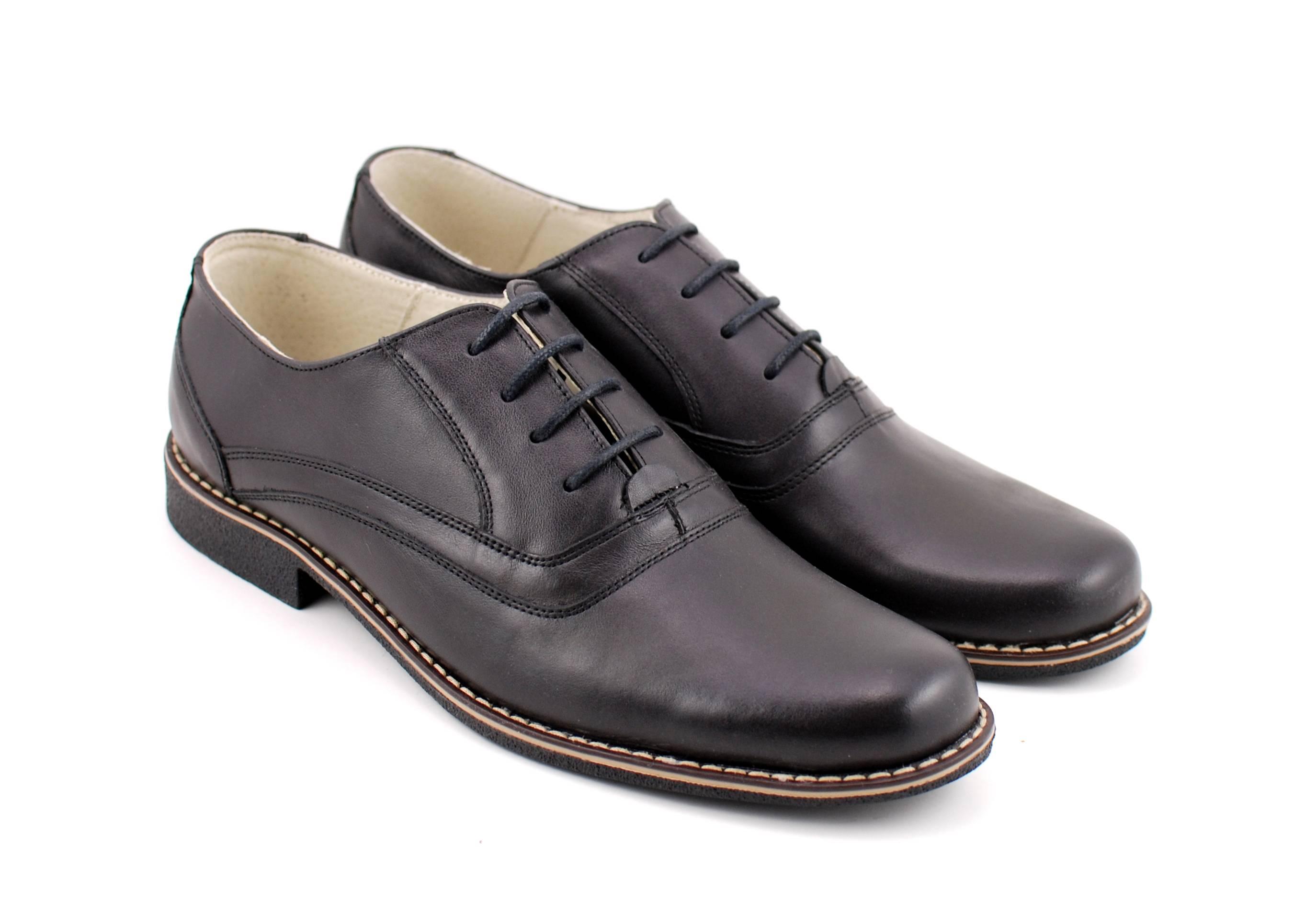 Pantofi barbati casual, eleganti din piele naturala P37NN