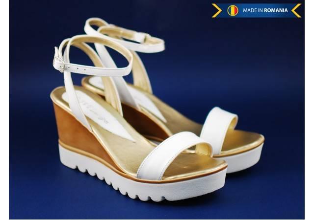 Sandale dama din piele naturala, Made in Romania - cod S106A2