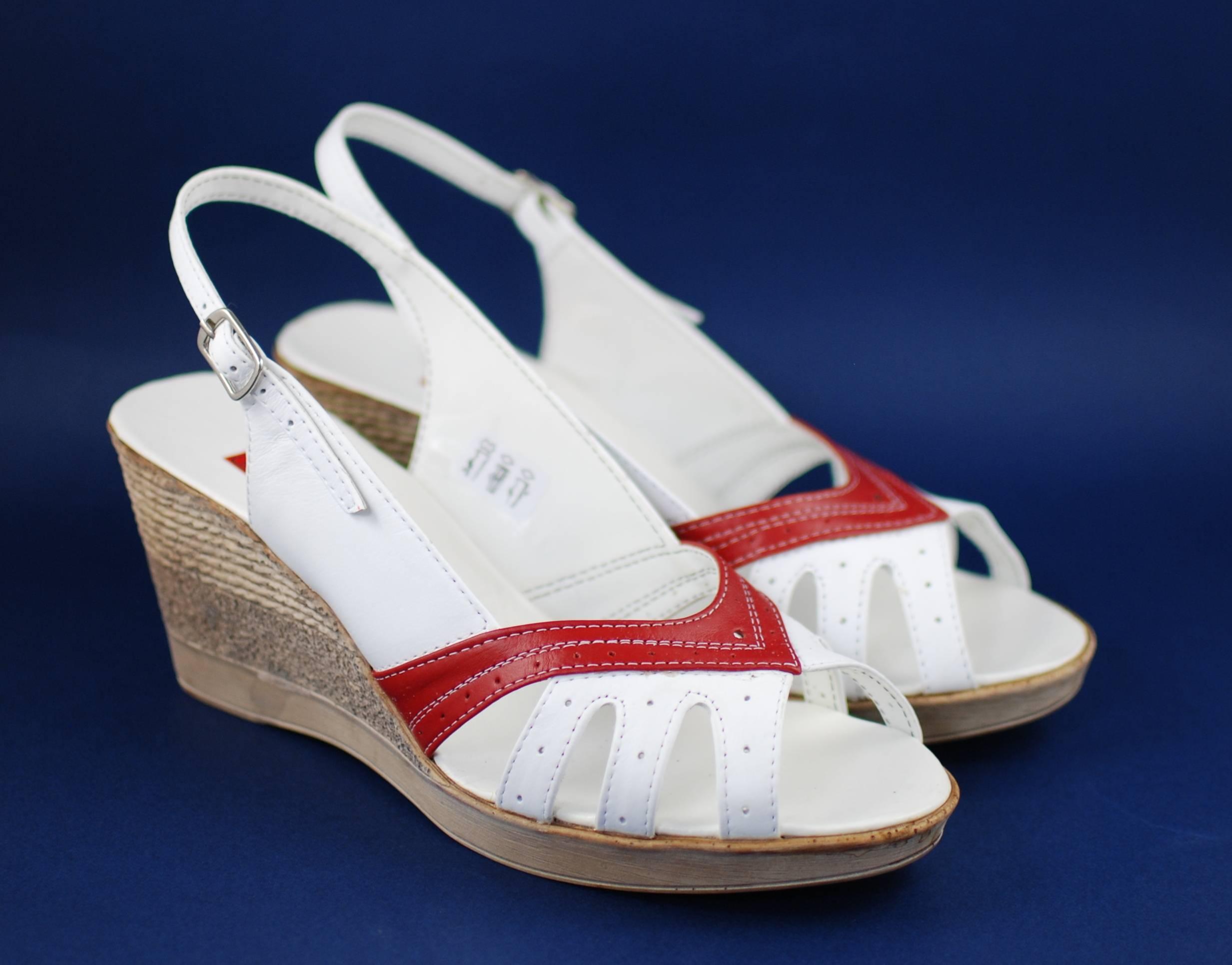Sandale dama din piele naturala - Made in Romania ELY88AR