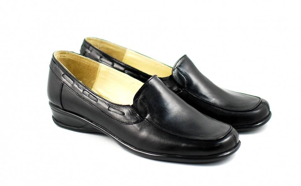 Pantofi dama casual din piele naturala, foarte comozi - Made in Romania P1N