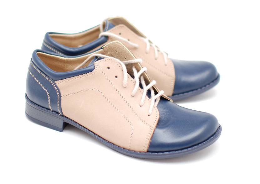 Pantofi dama casual din piele naturala-Made in Romania ROVIBOB