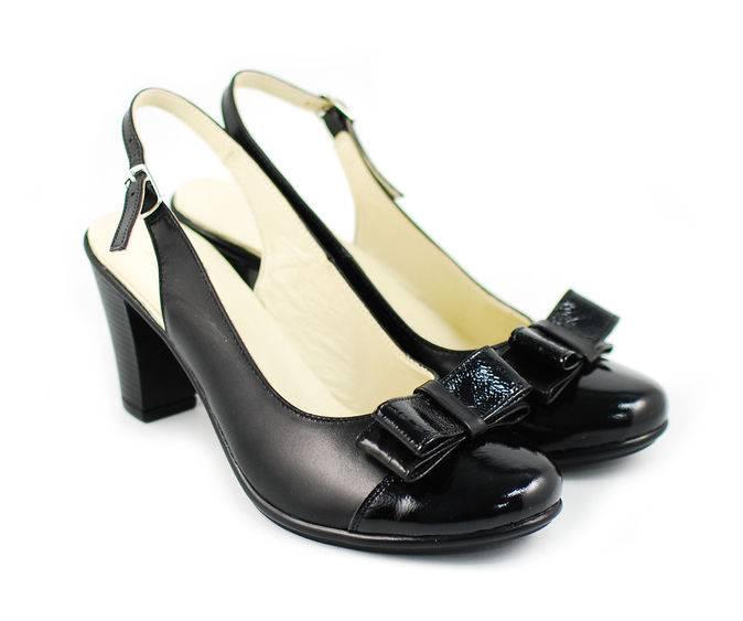 Sandale dama elegante din piele naturala - Made in Romania S100N
