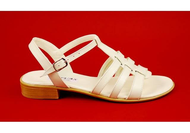 Lichidare marimea 36, 40 Sandale dama din piele naturala bej - Made in Romania LS2BEJ