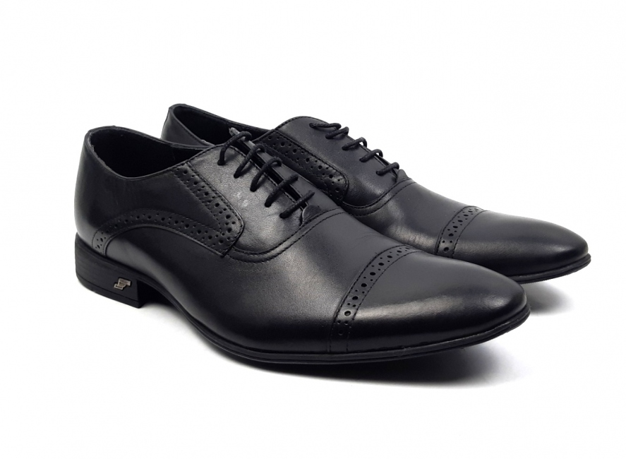 Marimea 40, 43, Pantofi barbati office, eleganti din piele naturala 740N