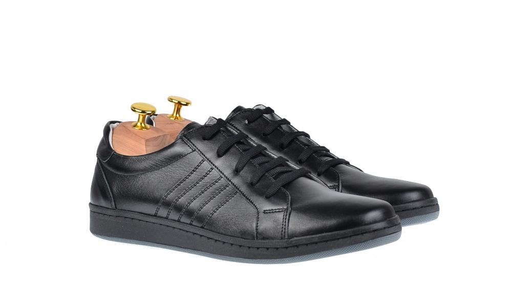Pantofi barbati sport - casual din piele naturala ADTIMN